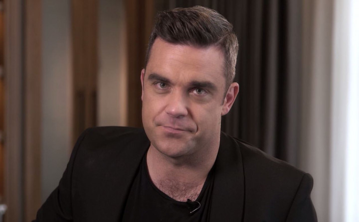Robbie Williams wünscht frohe Weihnachten