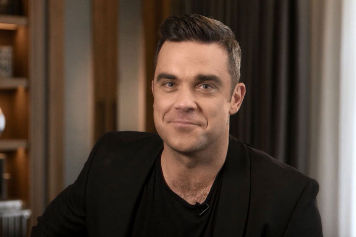 Robbie Williams Pressefoto 2012