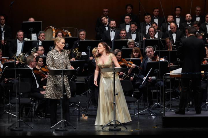 Elina Garanca und Ekaterina Siurina im Festspielhaus Baden-Baden