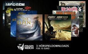 Jack Slaughter, Amazon Aktion: 3 folgenreiche Hörspieldownloads für 10 Euro!