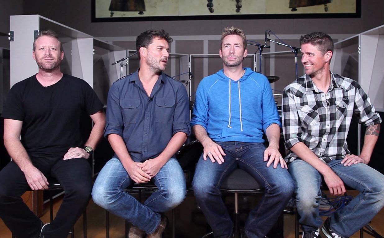 Nickelback, No Fixed Address (Interview)
