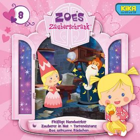 Zoés Zauberschrank, 08: Fleißige Handwerker / Zauberer in Not / Torteneistanz / Das seltsame Päckchen, 00602537445554
