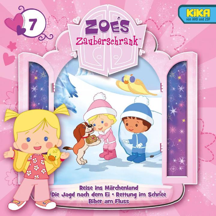 07: Reise in Märchenland / Die Jagd nach dem Ei / Rettung im Schnee / Biber am Fluss