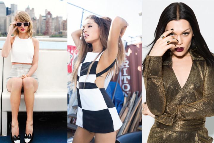 Jessie J, Taylor Swift, Ariana Grande - Weihnachtsnews - 2014