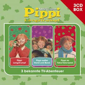 Pippi Langstrumpf, Pippi Langstrumpf - 3-CD Hörspielbox, 00602547156556