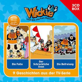 3-CD Hörspiel- und Liederboxen, Wickie - 3-CD Hörspielbox Vol. 1, 00602547149800
