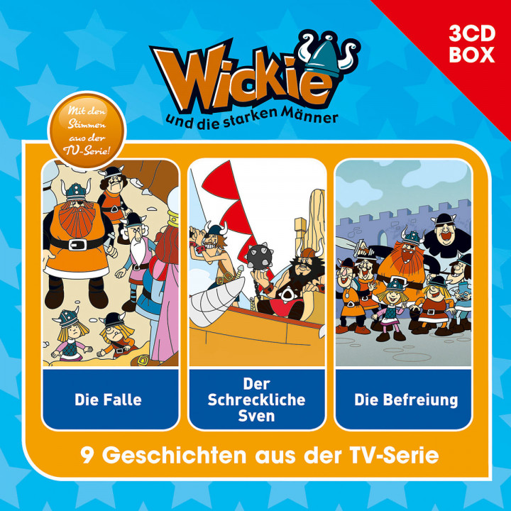 Wickie - 3-CD Hörspielbox Vol. 1