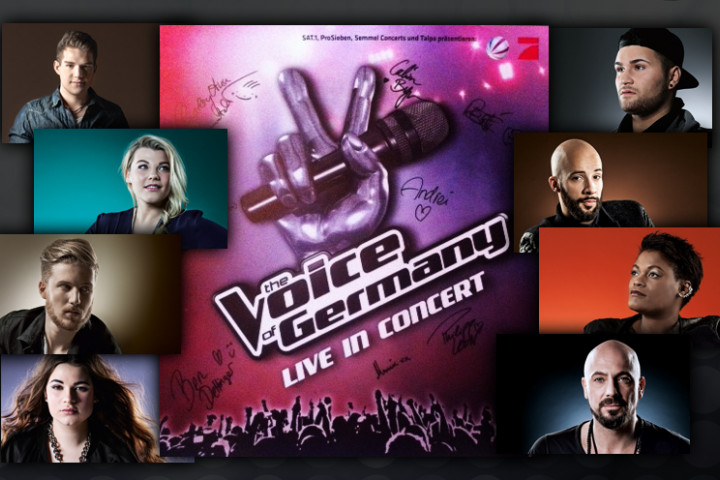 """The Voice Of Germany"" 2014 die Halbfinalisten"