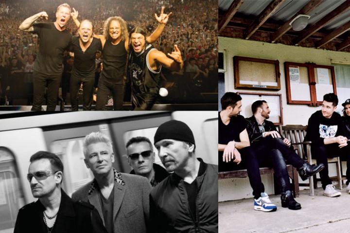 Grammy 2015 - Collage Rock