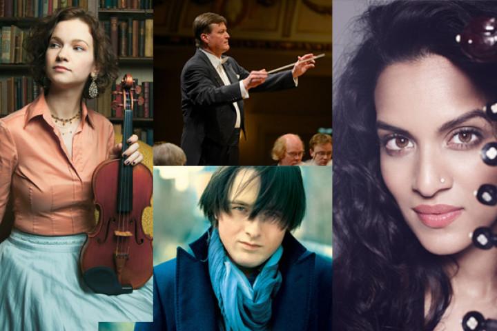 Hillary Hahn, Christian Thielemann, Daniil Trifonov, Anoushka Shankar
