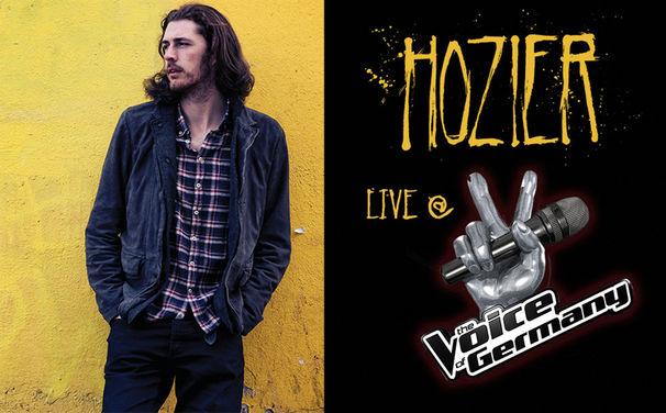 Hozier, 12. Dezember 2014: Hozier singt mit The Voice Of Germany Finalistin Charley Ann Schmutzler seine Single Take Me To Church