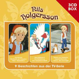 3-CD Hörspiel- und Liederboxen, Nils Holgersson - 3-CD Hörspielbox Vol.2, 00602547155870