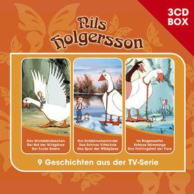 Nils Holgersson, Nils Holgersson - 3-CD Hörspielbox, 00602547179494