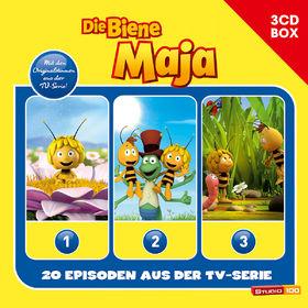 Die Biene Maja, 3-CD Hörspielbox zur neuen TV-Serie Vol.1, 00602547153395