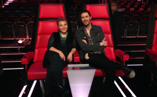Hozier, Schaut euch die Fotos an: Hozier und Charley Ann Schmutzler bei den Proben des The Voice Of Germany Finales