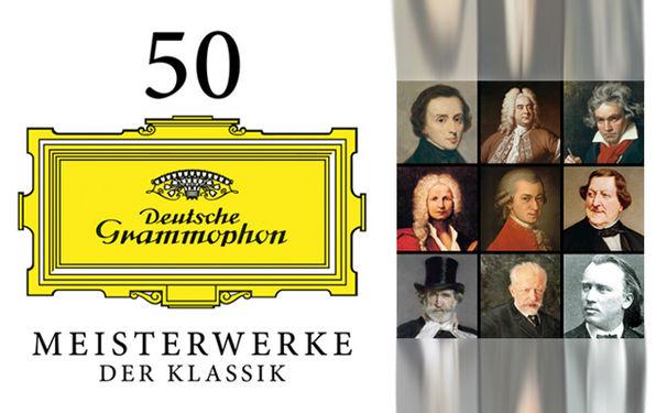 Diverse Künstler, 50 Meisterwerke der Klassik als digitales Album zum Download