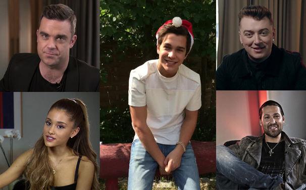 Musik zu Weihnachten, Schaut euch die Videos an: Universal Music Pop-Künstler wünschen euch ein frohes Weihnachtsfest