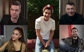 Robbie Williams, Schaut euch die Videos an: Universal Music Pop-Künstler wünschen euch ein frohes Weihnachtsfest