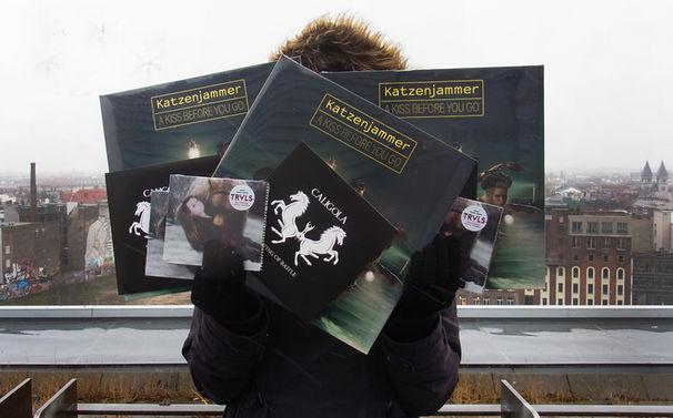 Katzenjammer, Gewinnt drei skandinavische Musikpakete mit Vinyls und CDs von Katzenjammer, Truls und Caligola