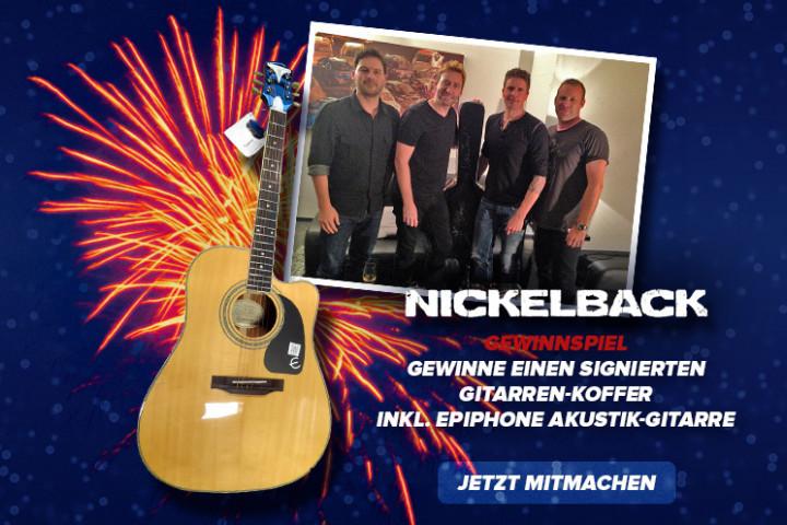 Nickelback - Neujahrsgewinnspiel - 2014/15