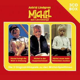 Astrid Lindgren, Michel - 3-CD Hörspielbox, 00602547156372