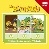 3-CD Hörspiel- und Liederboxen, Die Biene Maja - 3-CD Hörspielbox Vol. 3, 00602547151988