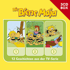 Die Biene Maja, Die Biene Maja - 3-CD Hörspielbox Vol.1, 00602547151766