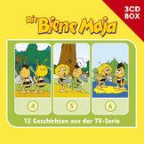 3-CD Hörspiel- und Liederboxen, Die Biene Maja - 3-CD Hörspielbox Vol. 2, 00602547151919