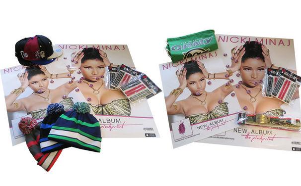 Nicki Minaj, Nicki Minaj Poster und Grimey Wear Germany Streetware: Gewinnt eins von drei Fanpaketen