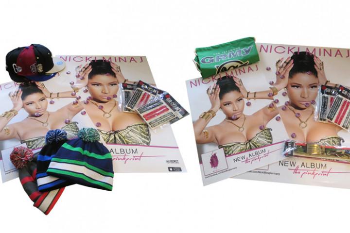 Nicki Minaj - Grimey - Collage - 2014