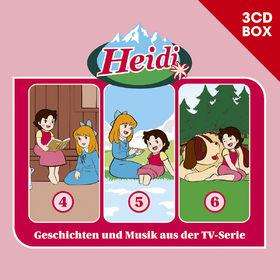 Heidi, Heidi - 3-CD Hörspielbox Vol. 2, 00602547157843