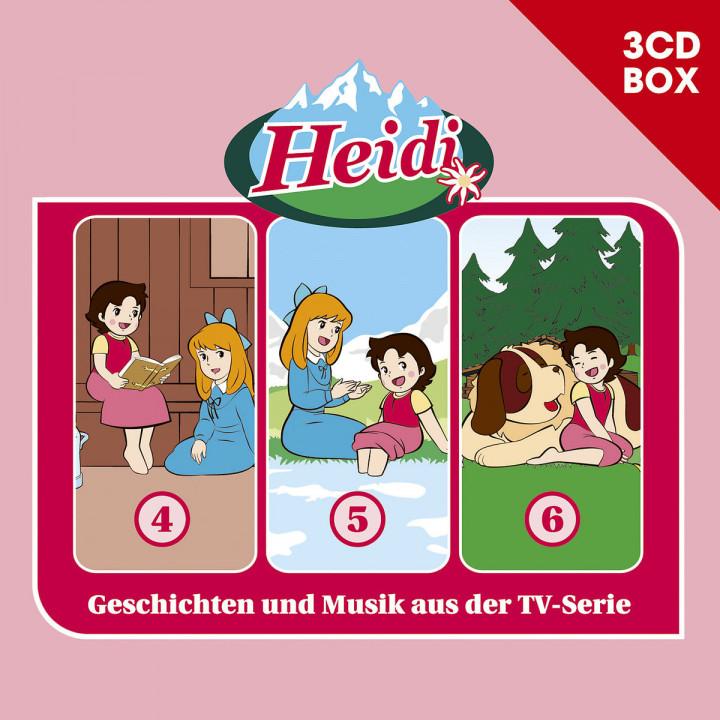Heidi - 3-CD Hörspielbox Vol. 2