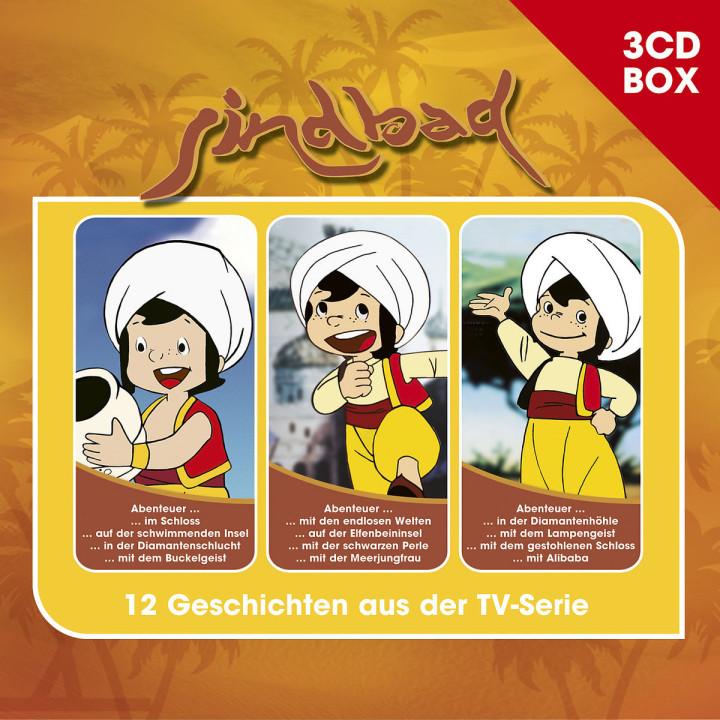 Sindbad - 3-CD Hörspielbox