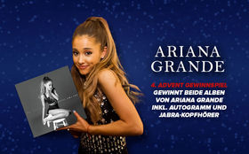 Ariana Grande, Zwei Alben, Autogramm und Kopfhörer: Gewinnt ein tolles Ariana Grande Paket