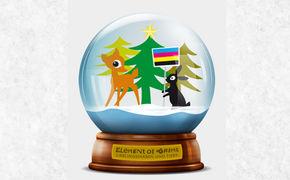 Element Of Crime, Verschickt eure Grüße mit der Schneekugel Lieblingsfarben und Tiere von Element Of Crime