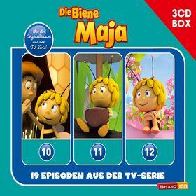 Die Biene Maja, 3-CD Hörspielbox zur neuen TV-Serie Vol.4, 00602547153579