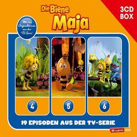 Die Biene Maja, 3-CD Hörspielbox zur neuen TV-Serie Vol.2, 00602547153463