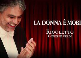 Andrea Bocelli, Opera - La Donna E'Mobile (Teaser)