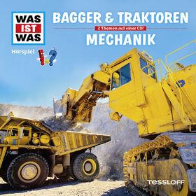 Was ist Was, 46: Bagger und Traktoren / Mechanik, 09783788629120