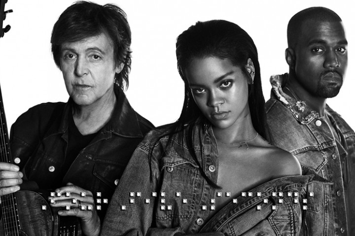 Rihanna - Four Five Seconds - 2015