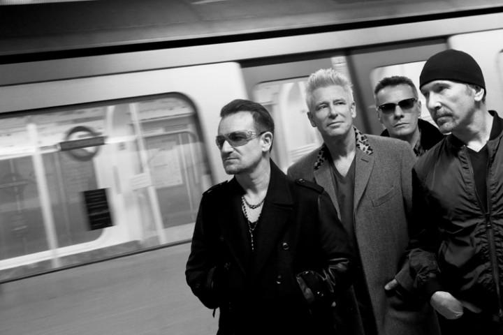 U2 2014 Pressefoto