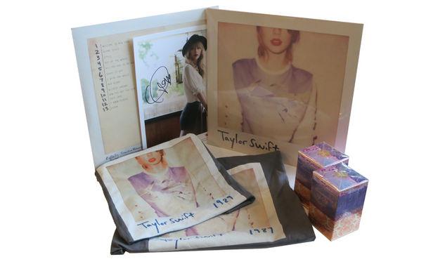 Taylor Swift, Shirt, Vinyl, Parfum, Autogramm: Gewinnt ein tolles Taylor Swift Fanpaket
