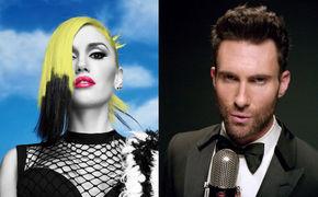 Gwen Stefani, Grammy der Gefühle: Maroon 5 Frontmann Adam Levine und No Doubt Frontfrau Gwen Stefani mit My Heart Is Open auf der Bühne