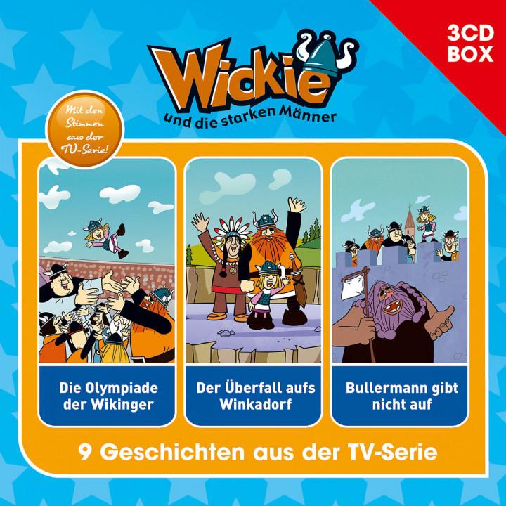 Wickie - 3-CD Hörspielbox Vol.3