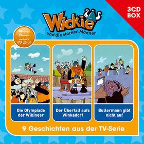Wickie, Wickie - 3-CD Hörspielbox Vol.3, 00602547151353