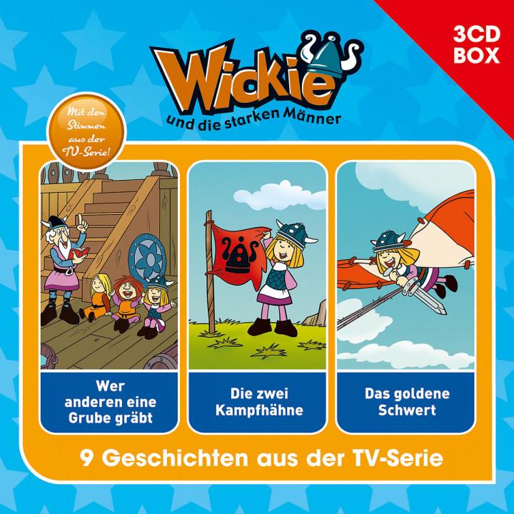 Wickie - 3-CD Hörspielbox Vol.5