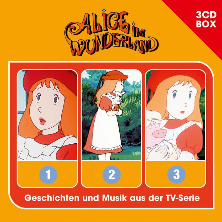 Alice im Wunderland - 3CD-Hörspielbox