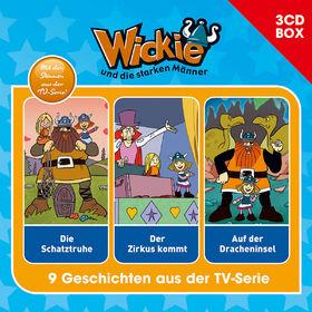 Wickie, Wickie - 3-CD Hörspielbox Vol.4, 00602547151414