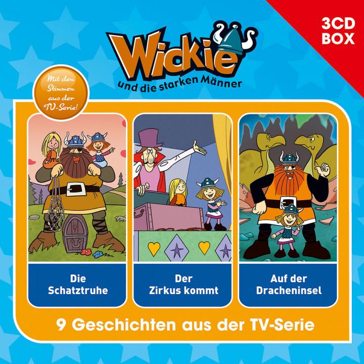 Wickie - 3-CD Hörspielbox Vol.4
