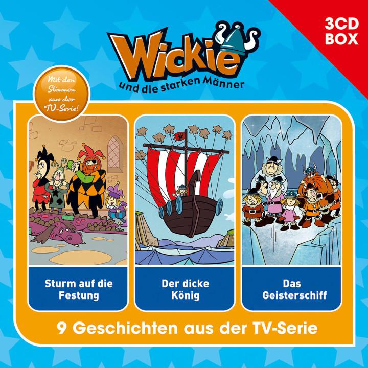 Wickie - 3-CD Hörspielbox Vol.2